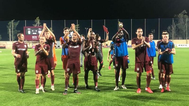 CFR Cluj s-a calificat în turul doi preliminar al Ligii Campionilor