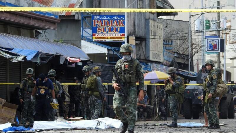 Explozie in Filipine