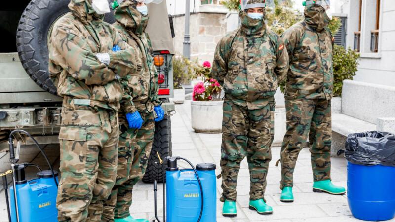 """Spania apelează la armată pentru a lupta împotriva pandemiei. """"Trebuie să preluăm controlul"""""""
