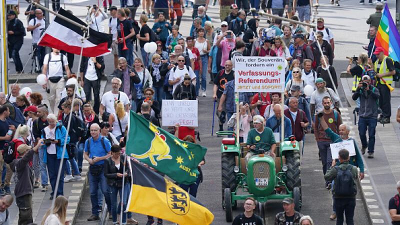 Un tribunal din Germania permite desfăşurarea de proteste față de restricții la Berlin