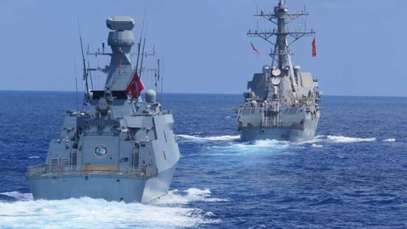 Turcia a efectuat noi manevre militare în Mediterana de Est