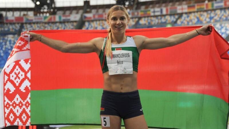 Krystsina Tsimanouskaya