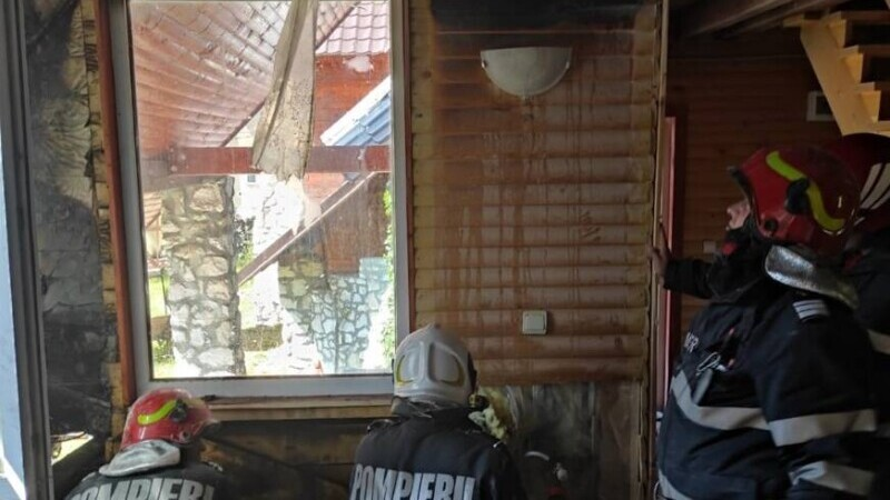 incendiu pompier concediu