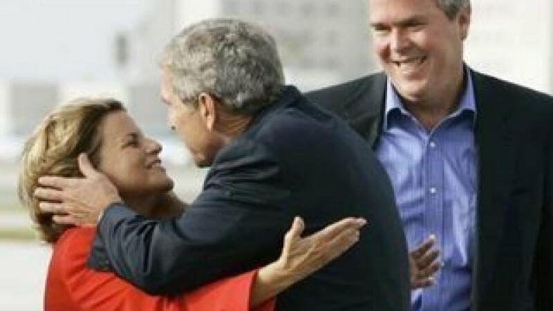 Ileana Ros-Lehtinen pupata cu foc de Bush