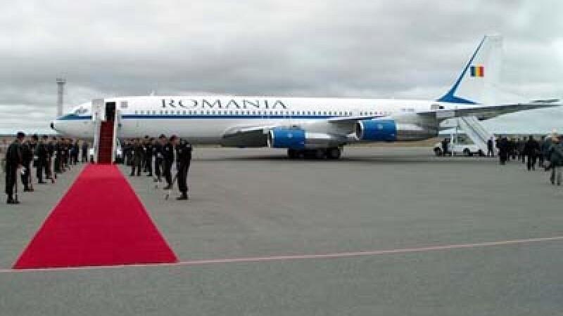 Avion Traian Basescu