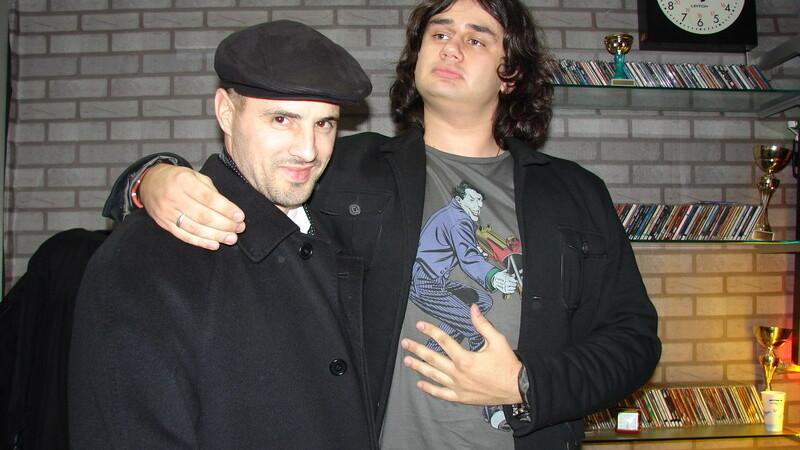 Pavel Stratan si Bogdan Nicolai