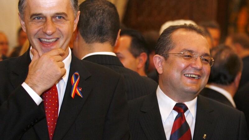 Mircea Geoana si Emil Boc