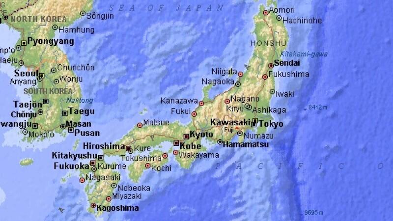 Harta Japoniei