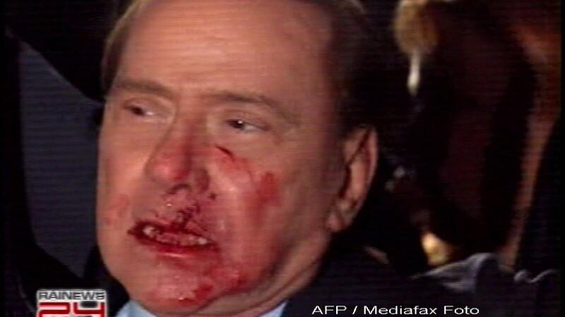 Silvio Berlusconi, plin de sange!