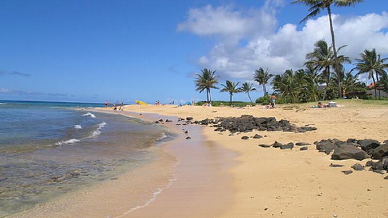 Plaja Poipu, Hawaii