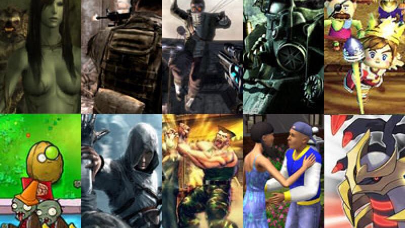 """Top 10 jocuri care le-au """"mancat"""" timpul gamerilor in 2009"""