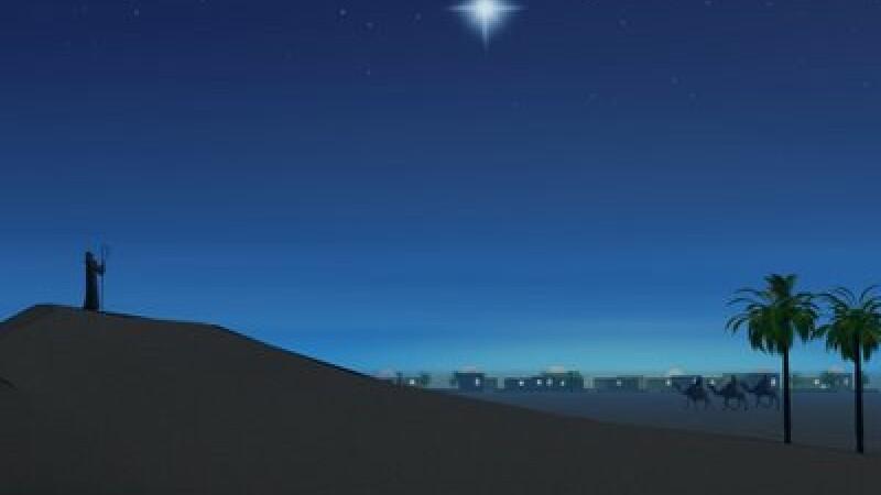 Steaua care a anuntat nasterea lui Isus