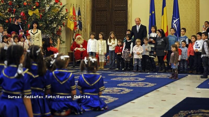 Colindatori Traian Basescu