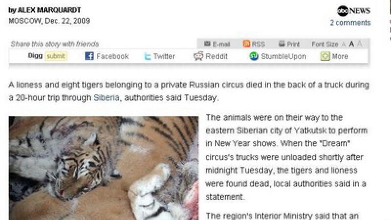 Animale moarte