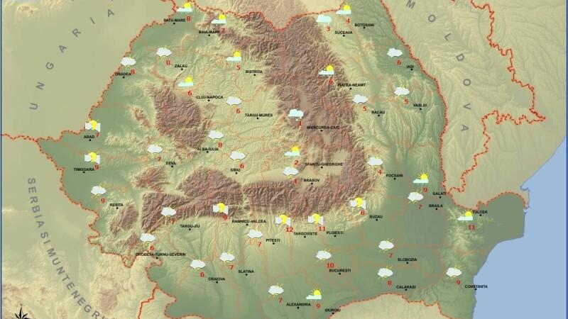 Prognoza meteo 26 decembrie