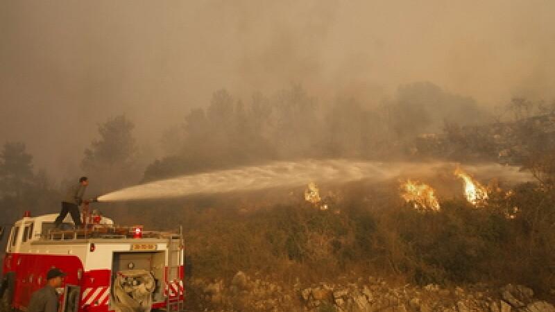 Incendiu Israel