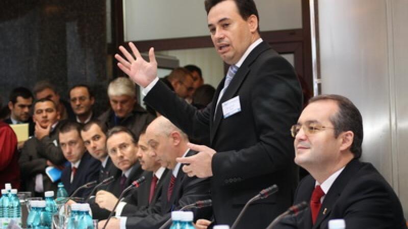 Gheorghe Falca si Emil Boc