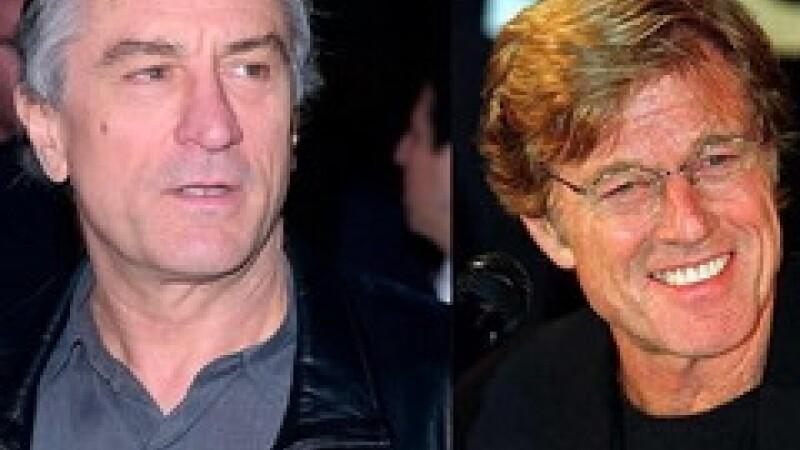 Robert Redford, Robert De Niro
