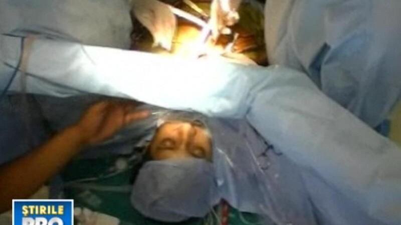 Uimitor! Operatie pe cord deschis, cu pacientul treaz tot timpul! VIDEO