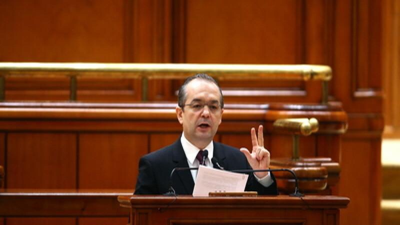 Emil Boc in Parlament