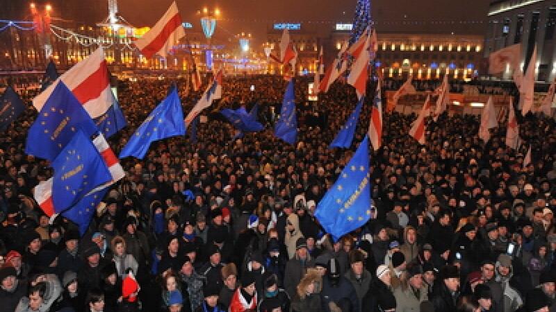 Proteste la Minsk