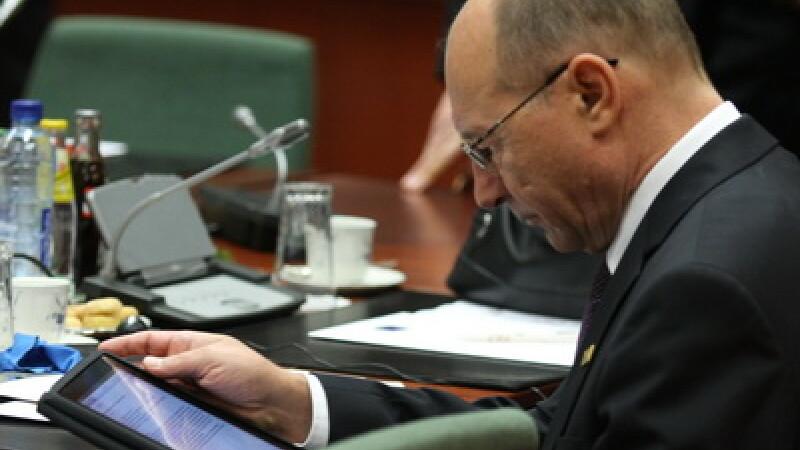 Basescu are iPad