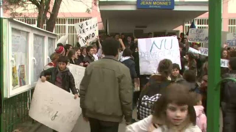 Protest Jean Monnet