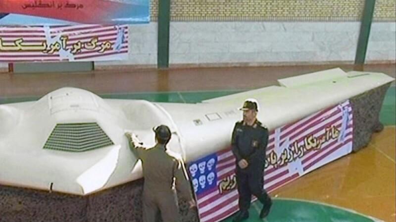 VIDEO. Primele imagini cu avionul invizibil al SUA, doborat in Iran. Pentagonul spune ca e un fals