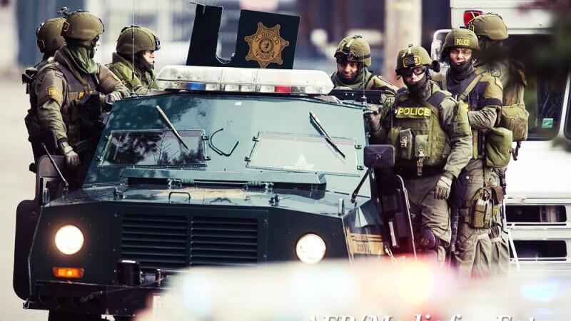 Ca-n bancurile cu politisti. O echipa SWAT a incercat sa prinda un barbat care era deja in puscarie