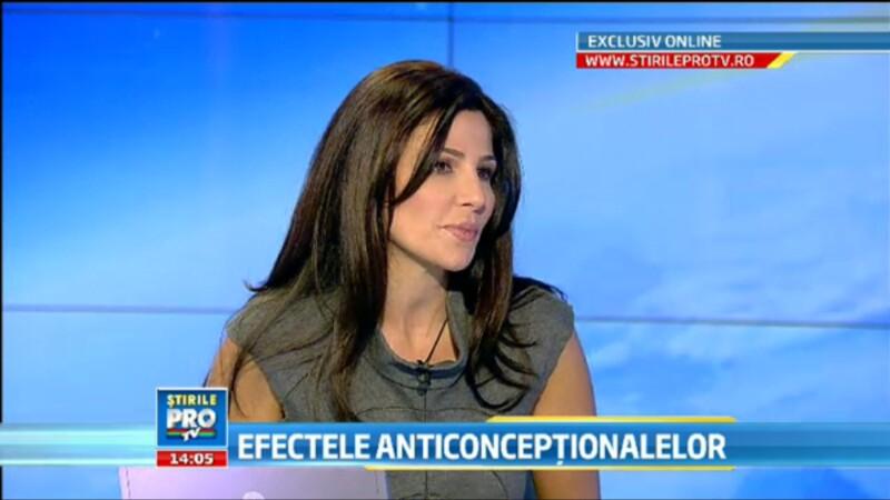 (P)Oana Cuzino si dr. Gabriela Cotarcea, despre miturile legate de administrarea contraceptivelor