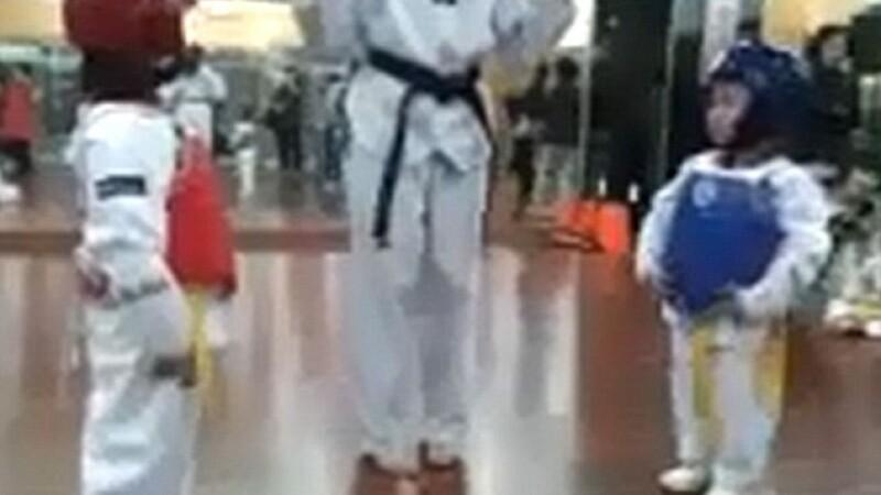 copii, karate