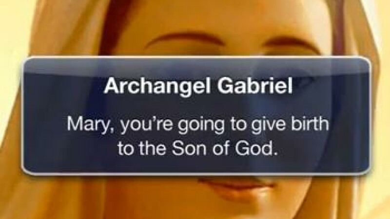 VIDEO. Nasterea Domnului, in zilele noastre. Iosif, anuntat pe Gmail, iar Iisus are cont pe Facebook