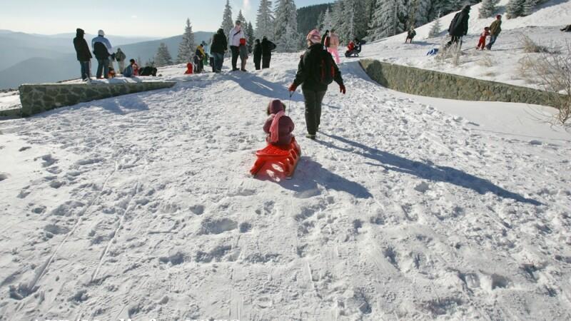 Iarna la Sinaia