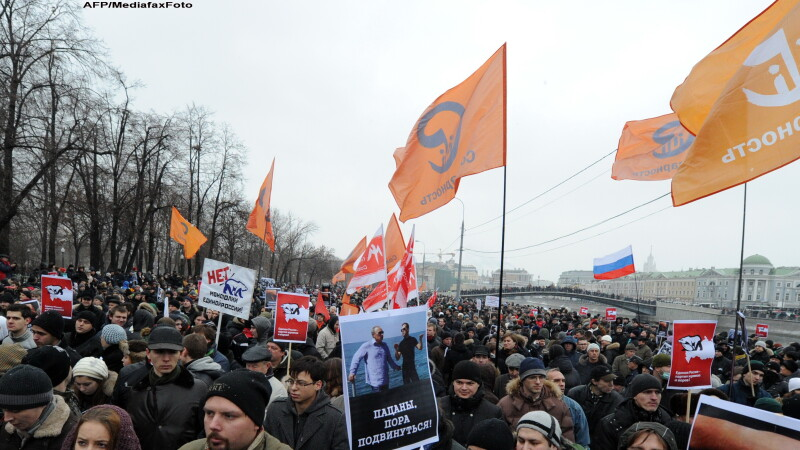 Proteste in Rusia