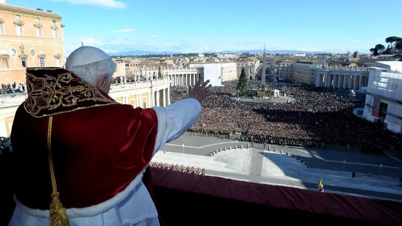 Papa Benedict de Craciun