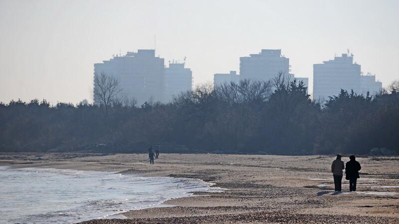 litoral iarna