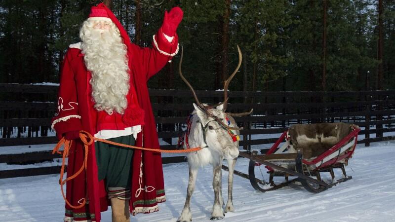 Rovaniemi, Cercul Polar, Polul Nord, Craciun, Finlanda