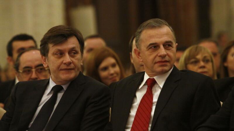 Mircea Geoana, Crin Antonescu