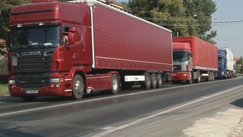 protest, tir, camioane