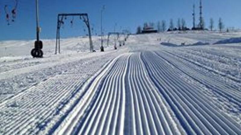 partie de schi, Feleac