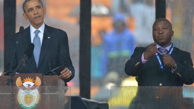 interpret, Mandela, Barack Obama