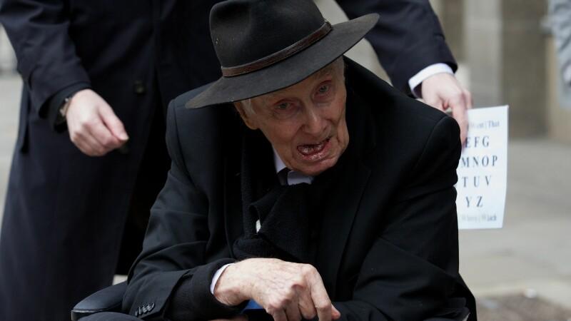 Imaginea trista cu ultimele clipe din viata unuia dintre cei mai mari infractori ai Marii Britanii