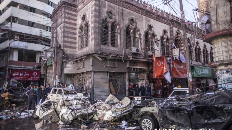 Atentat asupra unei cladiri a politiei in Egipt