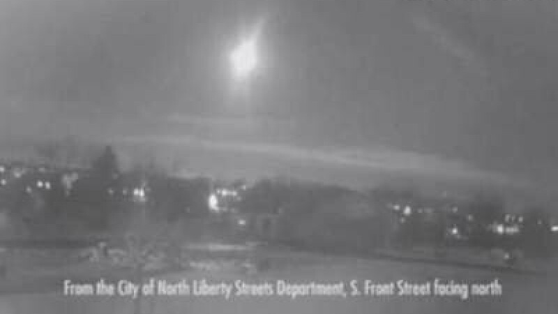 Un meteorit a explodat deasupra Statelor Unite. Fenomenul, surprins de camerele de inregistrare