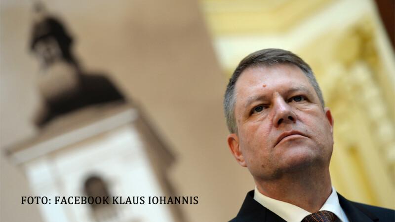 Klaus Iohannis la primaria Sibiu