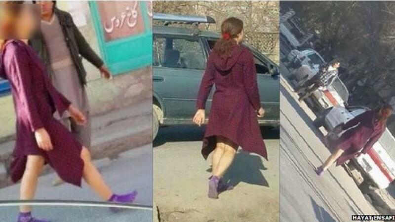 Afganistan: Mii de oameni vorbesc despre femeia cu picioarele descoperite din Kabul