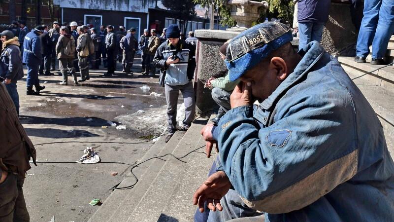 mineri, proteste