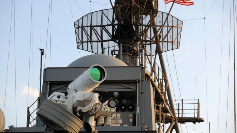 tun laser, US Navy