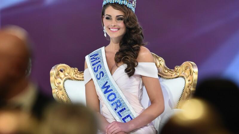 Miss World 2014. Rolene Strauss vine din Africa de Sud, este studenta la Medicina si vrea sa fie