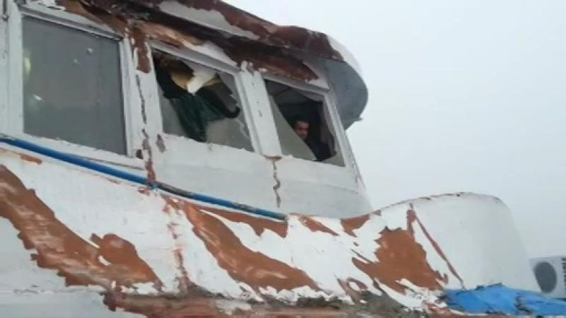 Accident naval pe Dunare: o nava cu 300 de pasageri a fost lovita de un cargou. De frica, oamenii au vrut sa se arunce in apa